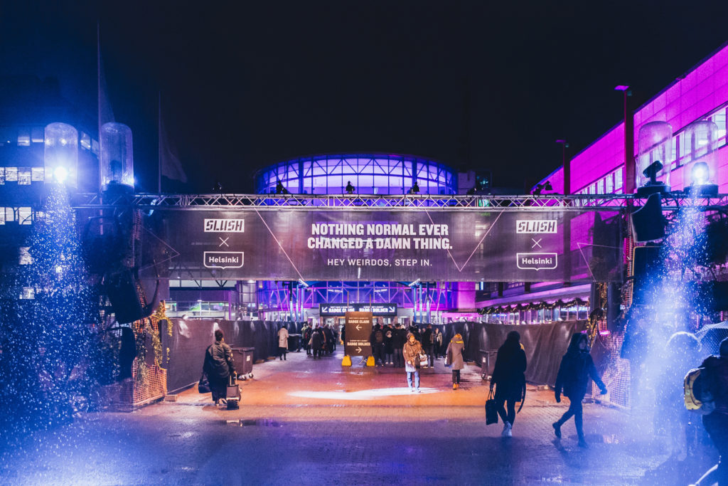 "Video report from Slush 2017 – ""Nothing normal ever changed a damn thing"""