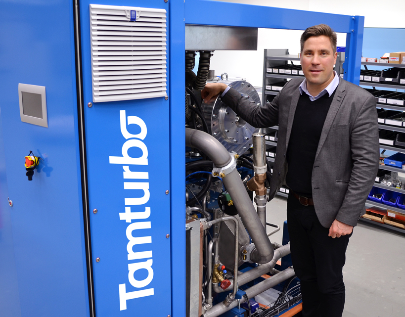 Oil free compressed air as a service belongs to the future of industrial production